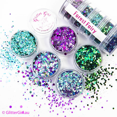 Glitter Girl Forest Fairy Collection