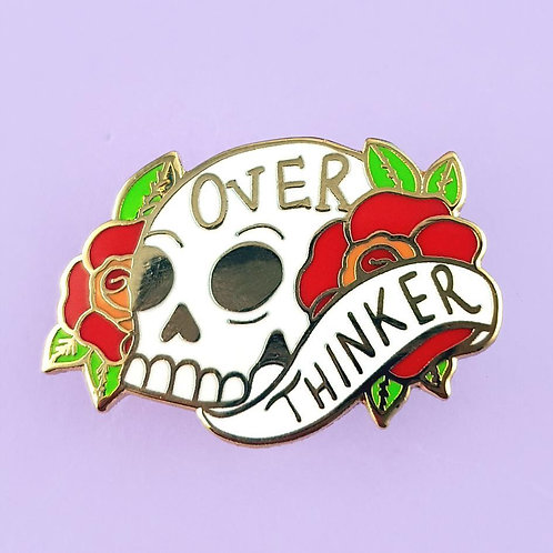 OVER THINKER LAPEL PIN