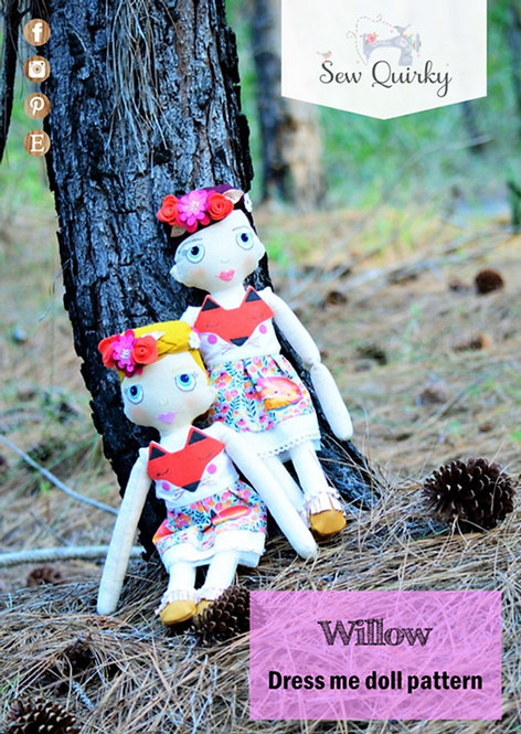 PDF - Willow Dress Me Doll