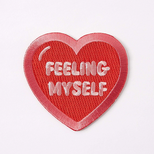 Feeling Myself Embroidered Iron On Patch