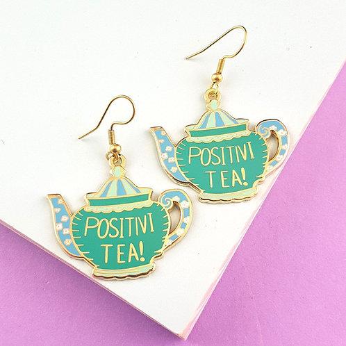 POSITIVI-TEA-POT EARRINGS