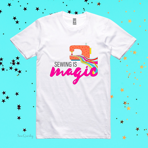 PREORDER S-5XL Regular Fit - Sewing is MAGIC t-shirt