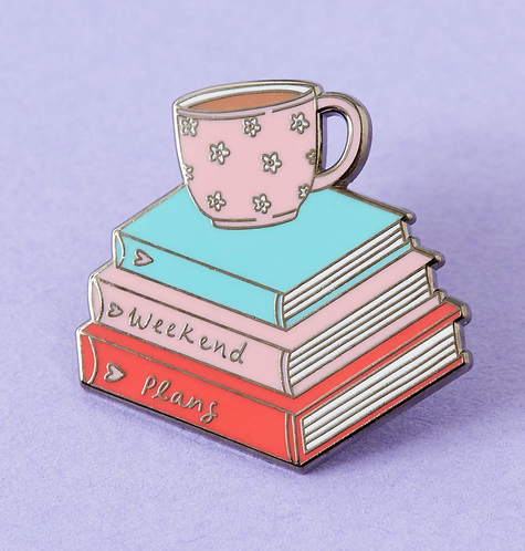 Weekend Plans Enamel Pin