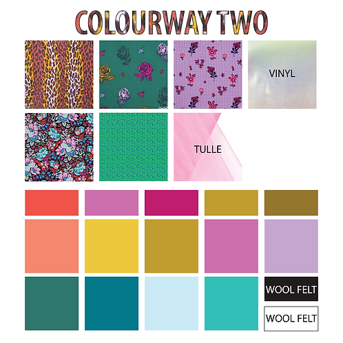 Applique Fabric Kit Colourway #2