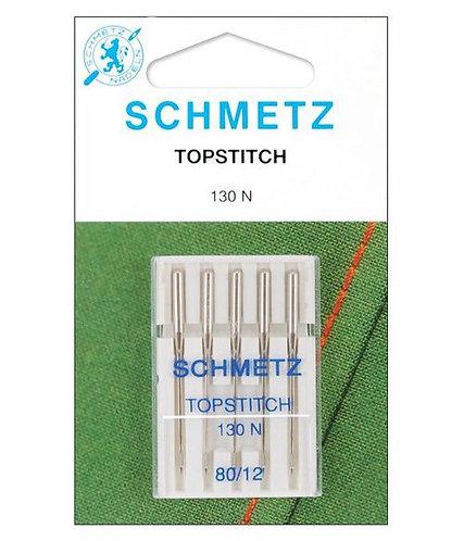 Schmetz Top Stitch Machine Needles 80/12