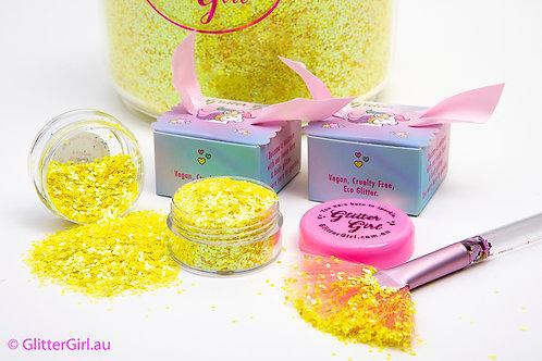 Glitter Girl Unicorn Glitter – Banana Yellow 5g Pouch