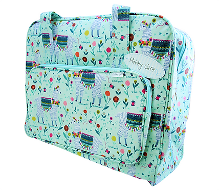 SEWING MACHINE CARRY BAG - llama design