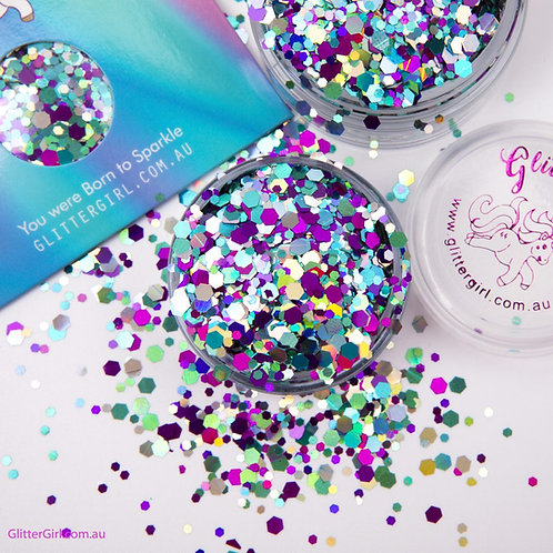Glitter Girl Unicorn Glitter – Smurfette 5g Pouch