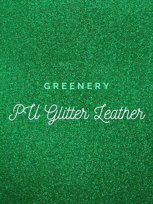 Greenery Glitter Vinyl