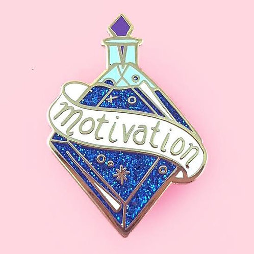 MIXTURE OF MOTIVATION LAPEL PIN
