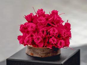 DIY Arrangement - Using Rose Petals with Micro Rose