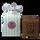 Thumbnail: Geschenkbox gestreift, 2 Seifen
