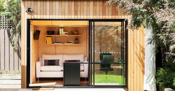 office studio in the garden