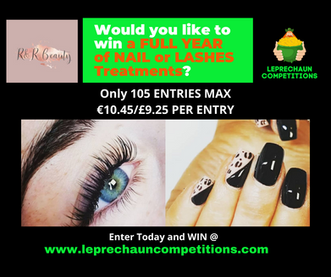 R&R Post Win 1 years free nail lashes tr