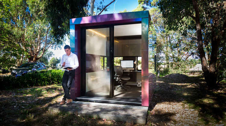 Garden office to work from home