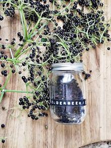 Dehydrated Elderberries