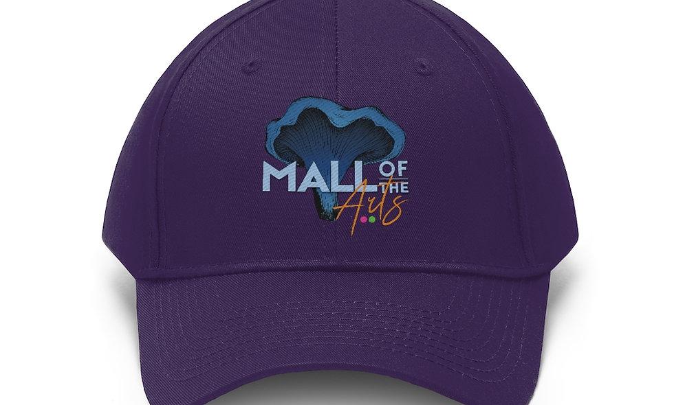 Purple MOA Unisex/Non binary Twill Hat