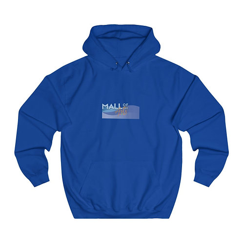 Lake text color\Unisex College Hoodie