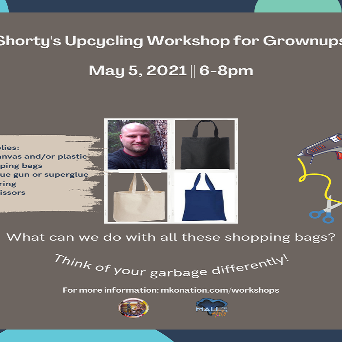 Shorty's Upcycling Event for Grownups -       An MKO Sponsored Event!