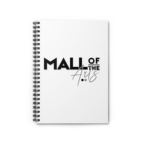 BW MOA Spiral Notebook - Ruled Line