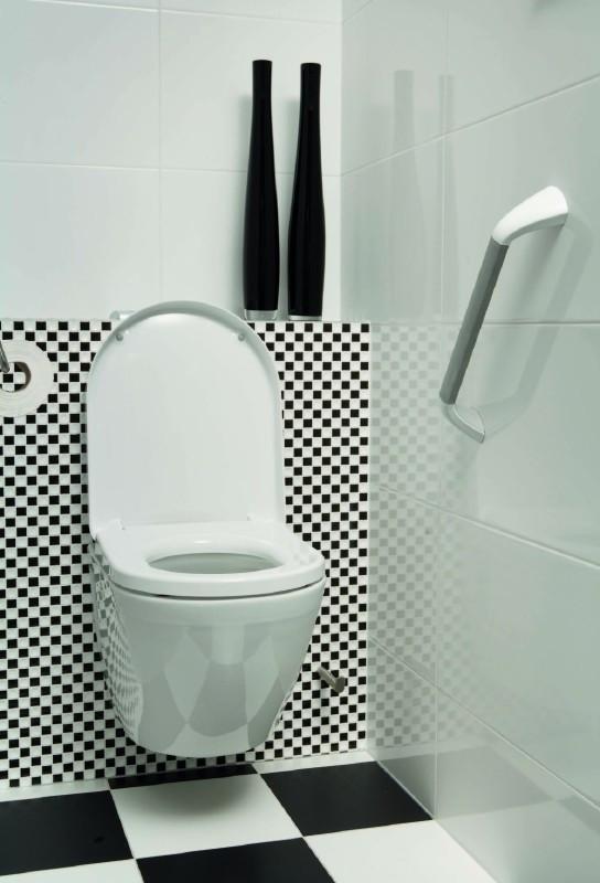 Wandbeugel toilet