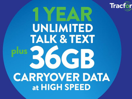 Tracfone Has New eBay Exclusive Annual Plans Including 36GB For $265