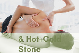 Customized Therapeutic Massage + Hot & Cold Stone Therapy