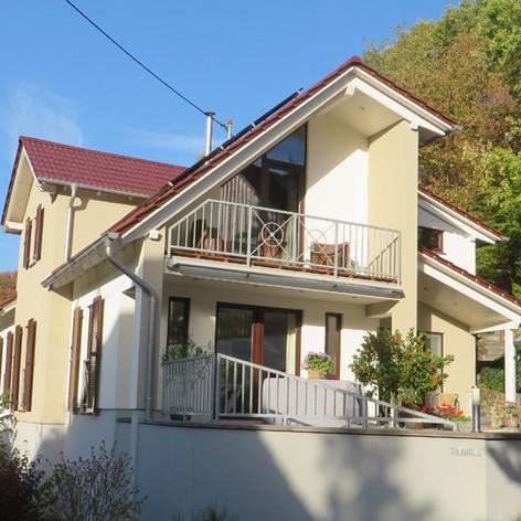 Umbau und Erweiterung eines Einfamilienhauses