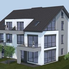 Entwurf - Mehrfamilienhaus