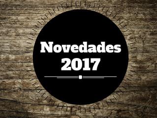 Nuevos lanzamientos 2017