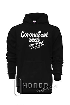 CoronaFest Black Hoodie