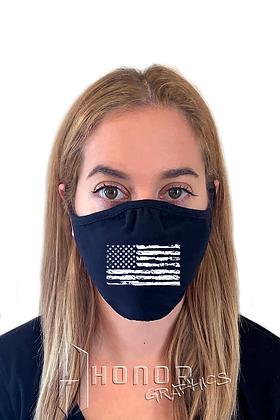American Flag Logo Face Mask