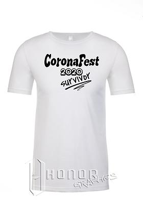 CoronaFest Men's White Tee