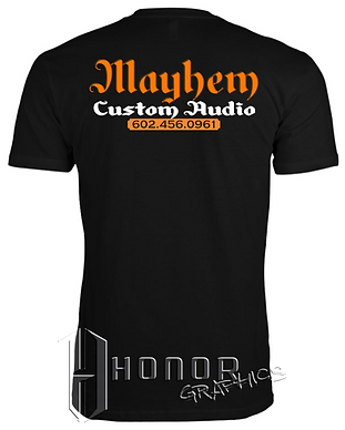 Mayhem Unisex Short Sleeve_Back_Black.pn