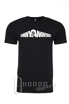 Johnny Anonymous Men's Custom Tee