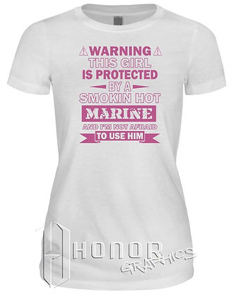 Marine Protected Girlfriend Tee