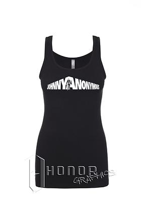Johnny Anonymous Ladies Spandex Tank