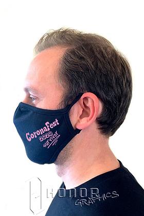 CoronaFest Pink Logo Face Mask