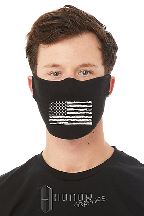 American Flag 1-Ply Cotton/Poly Daily Face Cover