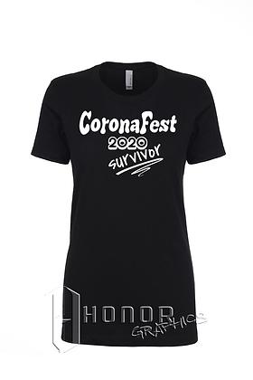 CoronaFest Ladies Boyfriend Tee