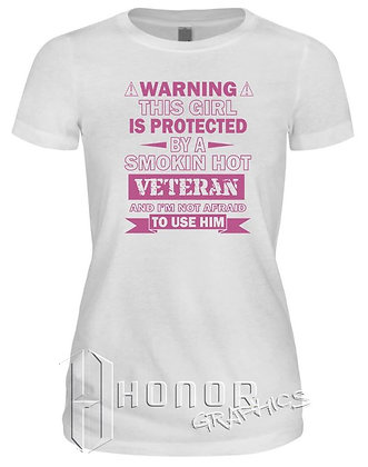 Veteran Protected Girlfriend Tee
