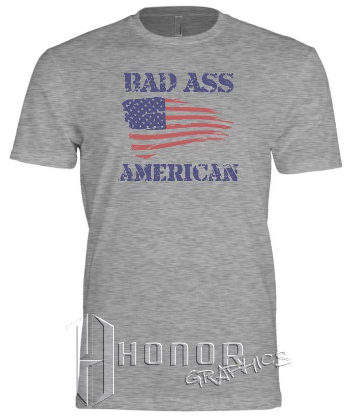 Badass American Tee