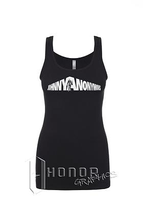 Johnny Anonymous Ladies Glitter Spandex Tank