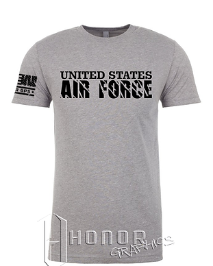 US Air Force-6210-Dark Heather Grey-Fron