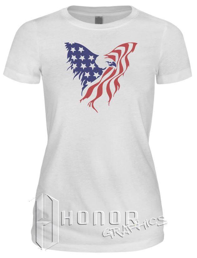 Eagle American Flag Tee