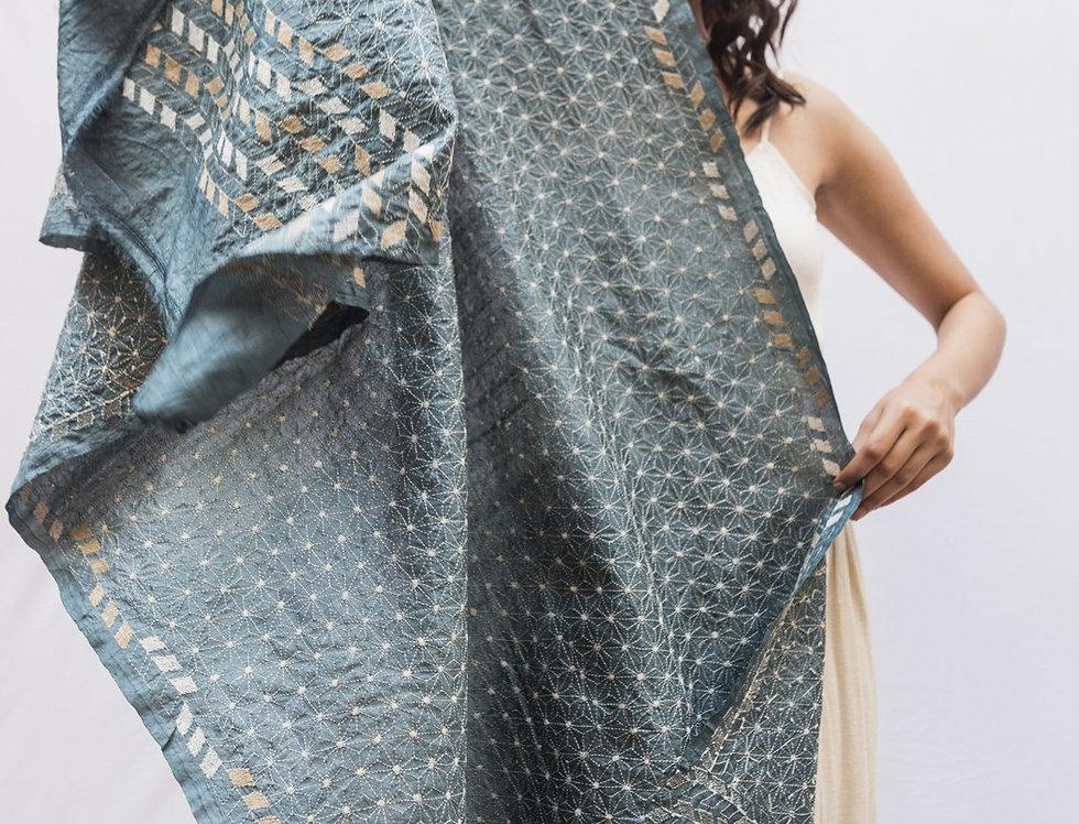Nakshi Kantha Shawl | diamond
