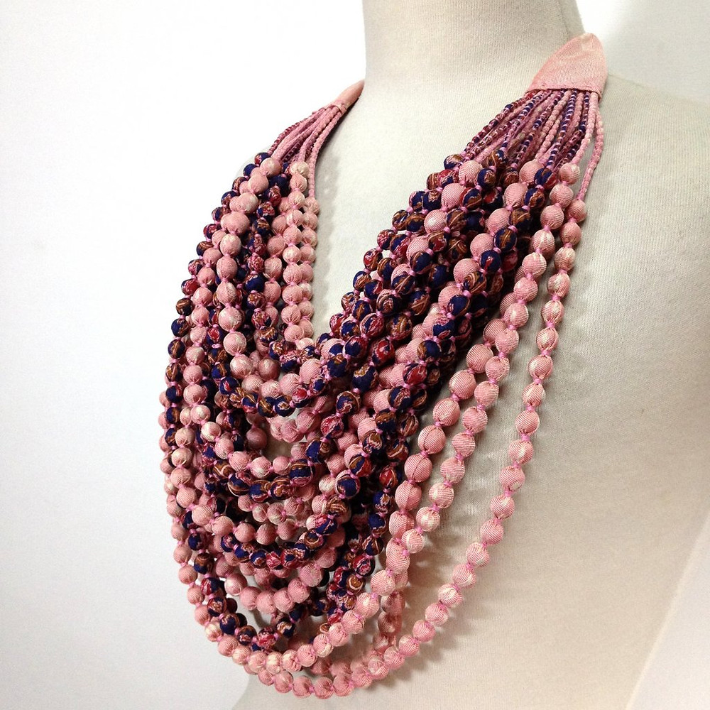 20+ Sari Bead Necklace