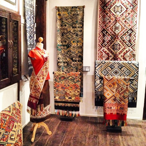 Textile Guide: Lao weaves