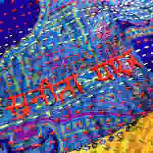 Kantha Sari Scarf with embroidered name of artisan