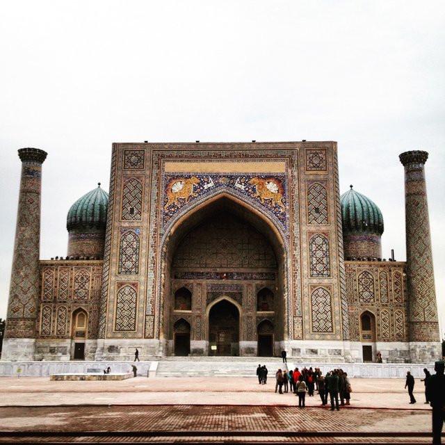 Registan Ensemble, Samarkand